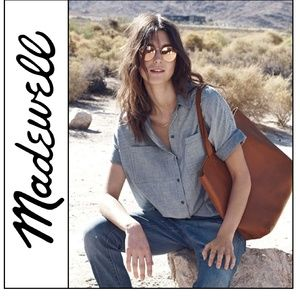 ( Madewell ) Courier Shirt in Lilydale Stripe